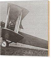 Wwi: British Bomber Wood Print
