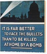Wwi: Poster, 1915 Wood Print