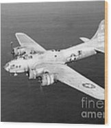 Wwii, Boeing B-17 Flying Fortress, 1940s Wood Print