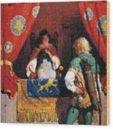 Wyeth: Robin Hood & Marian Wood Print