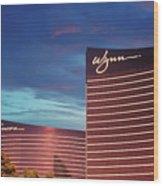 Wynn And Encore In Las Vegas Wood Print