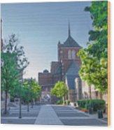 Wynn Commons - University Of Pennsylvania Wood Print