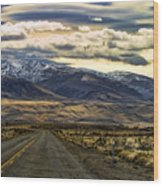 Wyoming I Wood Print