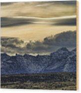 Wyoming II Wood Print