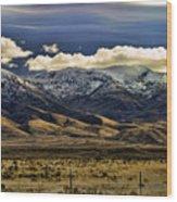 Wyoming Iv Wood Print