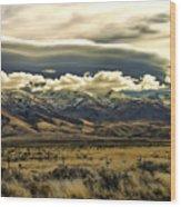 Wyoming Ix Wood Print