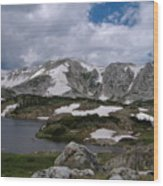 Wyoming Landscape Wood Print