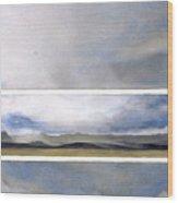 Wyoming Skies Wood Print