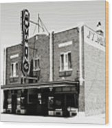 Wyoming Theater 2 Wood Print