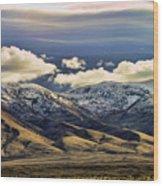 Wyoming Vi Wood Print