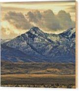 Wyoming Vii Wood Print