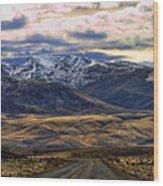 Wyoming Viii Wood Print