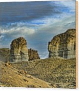Wyoming Xi Wood Print