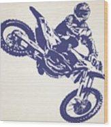 X Games Motocross 1 Wood Print