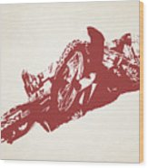 X Games Motocross 2 Wood Print