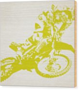 X Games Motocross 5 Wood Print