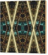 X-phile Wood Print