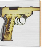 X-ray Art Of Walther P38 No. 4 Wood Print