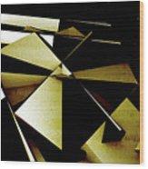 X Robot Wood Print