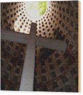 Xcaret Cemetery Catacomb Wood Print