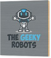 Xero The Robot Wood Print
