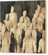 Xian Terracotta Warriors Wood Print