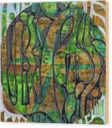 Xibalba Forest Wood Print