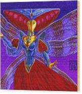 Xira Arien Wood Print