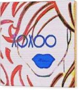 Xoxoo Wood Print