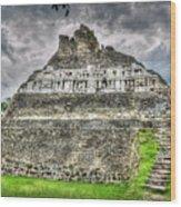 Xunantunich  El Castillo Wood Print