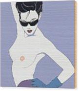 Xxx Patrick Nagel 022 Patrick Nagel Wood Print