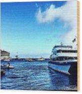 Yachtsee Wood Print