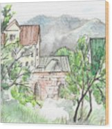 Yakornaya Schel Wood Print