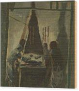 Yakovlev, Alexander 1887-1938 Merguez Seller In Tunis Wood Print