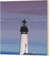 Yakuina Head Lighthouse Li201 Wood Print