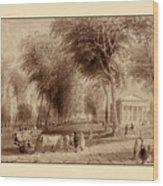 Yale University 1836 Wood Print