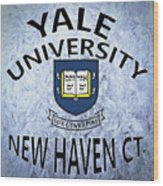 Yale University New Haven Ct.  Wood Print