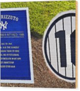 Yankee Legends Number 10 Wood Print