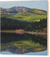 Yankee Meadows Lake Wood Print