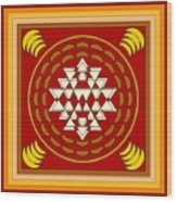 Yantra Meditation Wood Print