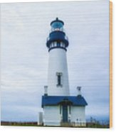 Yaquina Lighthouse Wood Print