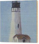 Yaqunia Head Lighthouse Wood Print