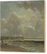 Yarmouth Pier Wood Print