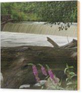 Yates Dam Wood Print