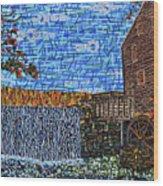Yates Mill 3 Wood Print