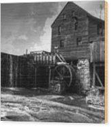 Yates Mill Wood Print