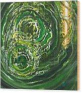 Yaweh El Shaddai Left Canvas Detail Wood Print