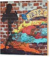 Ybor City Wood Print