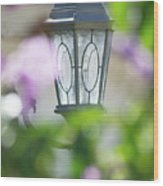 Ye Old Lamp Wood Print