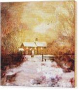 Ye Olde Inn Wood Print